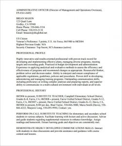 federal resume example federal resume template free samples examples format with federal resume template