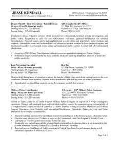 federal resume sample federal resume format