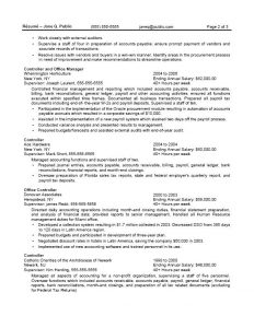 federal resume sample sample fed acctgmgrb