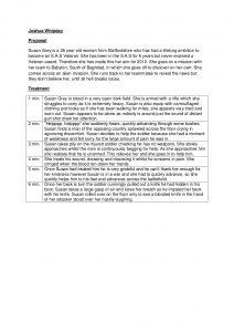 film script example short film proposal treatment