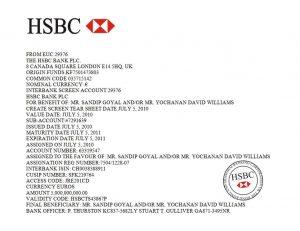 financial report template b hsbc pof david williamssandip goyal