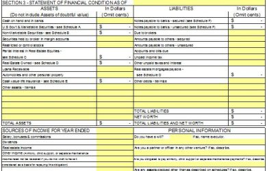 financial statement template personal financial statement template 02