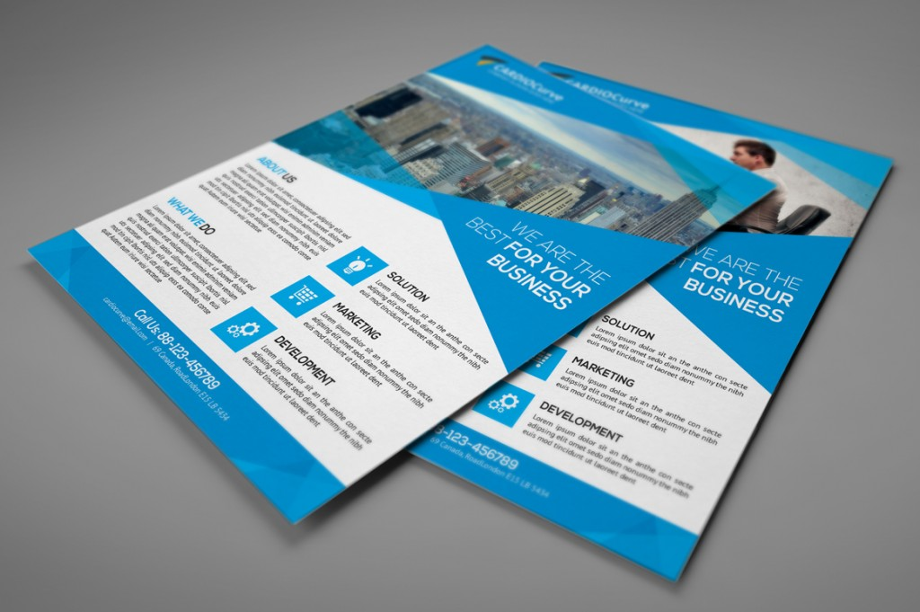 flyer template word