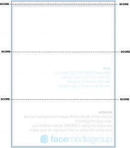 folding card template free print ready o