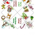 folding card templates helena maratheftis xmas cootie catcher thefty a