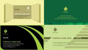 folding card templates simple business card template psd