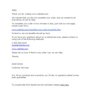 follow up email example follow up email example