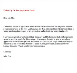 follow up email example follow up email samples