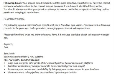 follow up email example follow up email template sales