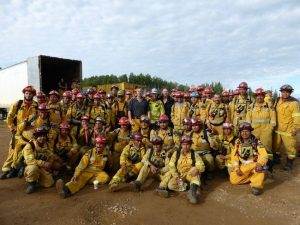 follow up email interview mexican firefighters