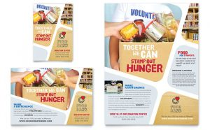 food drive flyer template np s