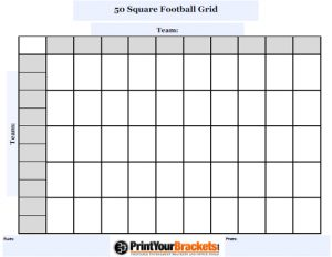 football squares template excel customizable square football grid