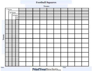 football squares template excel customizable quarterline football squares
