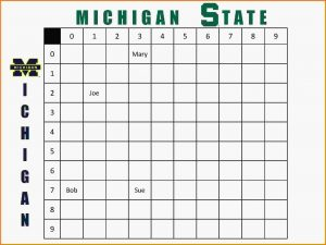 football squares template excel football squares template squares