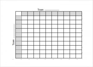 football squares template excel printable football square template free in pdf format
