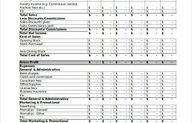 football squares template excel profit loss statement template free pdf excel documents pertaining to profit and loss statement template