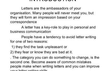 formal complaint letters letter drafting ppt feb