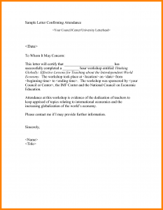 formal invitations template attendance letter template