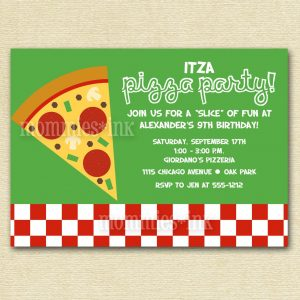 formal invitations template printable pizza party invitations