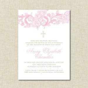 formal invite templates baptism invitations templates free download