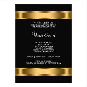 formal invite templates free work dinner invitation