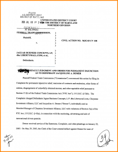 formal lab report template motion to vacate default judgment sample