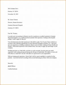 format for a resume cover letter httpwwwresumecareer free samples free medical assistant cover letter sample medical assistant cover letter samples format cover medical x