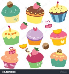 format for a resume stock vector yummy cupcakes clip art