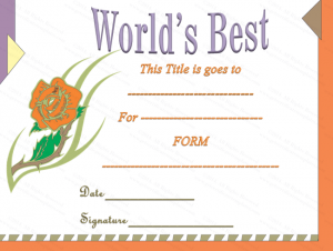 free award templates classic words best award certificate template