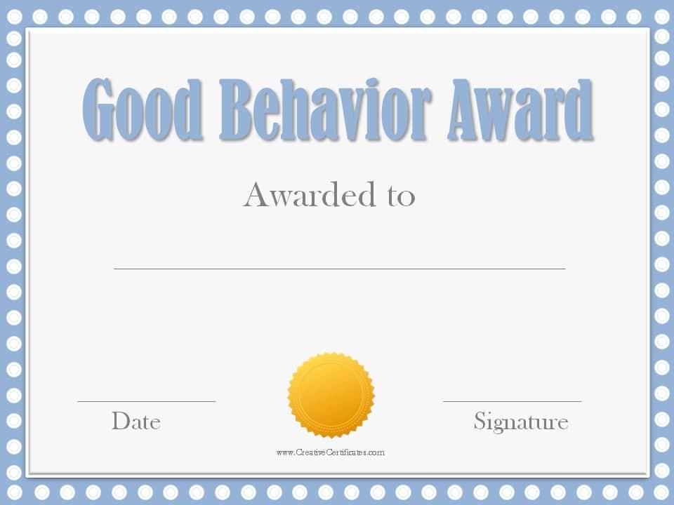 free award templates