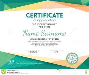 free award templates modern certificate background design template stock vector image pertaining to certificate design background