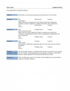free basic resume templates microsoft word basic resume x