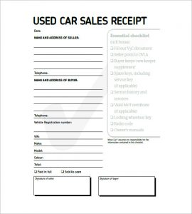 free bill of sale template for car vehicle invoice template used car invoice template xfdnbw