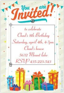 free birthday invitation templates for adults birthday invitation template