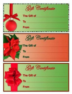 free blank certificate templates free christmas gift certificate templates to download x
