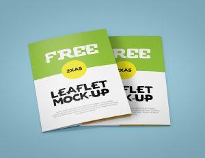 free brochure template downloads leaflet xa mockup