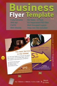 free business flyer templates preview flyer pack by printriver