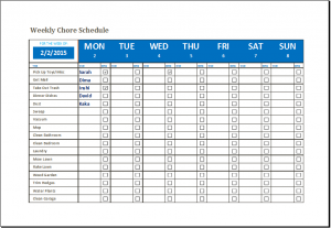 free chore chart template family schedule template family member weekly chore schedule gndjbd