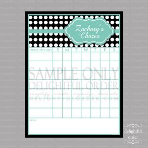 free chore chart template il xn