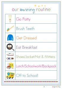 free chore chart template morningroutineimage