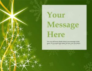 free christmas flyer templates christmas tree green flyer free template