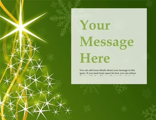 free christmas flyer templates