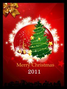 free christmas flyer templates psd