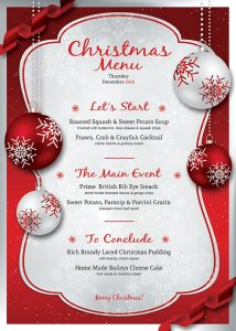 free christmas party invitations template christmas eve menu template psd v in christmas menu template word