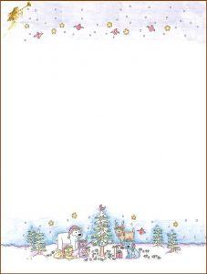 free christmas stationery templates free printable christmas stationery templates