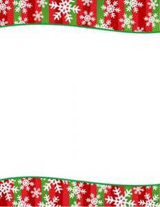 free christmas stationery templates snowflakes stripes christmas letterhead geographics l