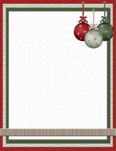 free christmas stationery templates xmasstat