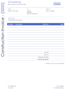 free construction estimate template pdf contractor invoice format for word x