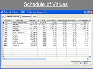 free construction schedule spreadsheet schedule of values template slide hajlhw