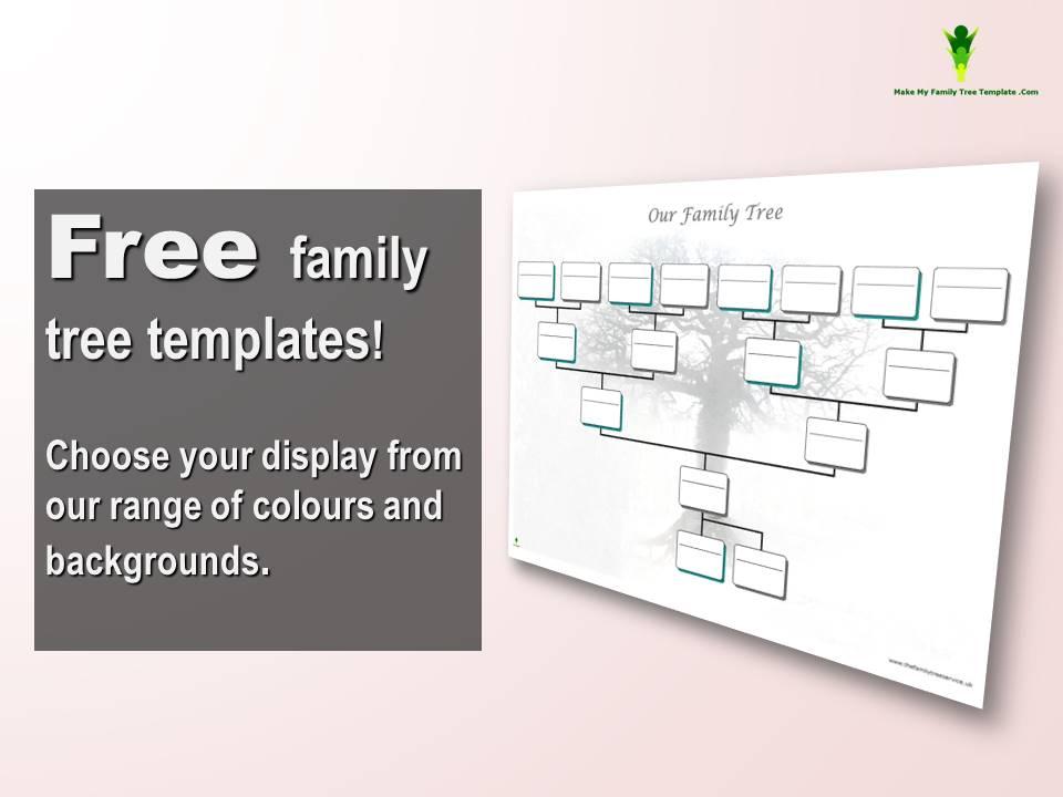 free editable family tree template word